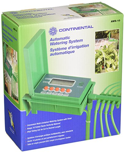 CONTINENTAL AWS-10 Automatic Watering System for (Plant Watering System)