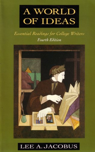 "a world of ideas essential readings for college writers 8th edition A world of ideas has 298 ratings and start by marking ""a world of ideas: essential readings for college writers"" as want it's the third edition with a."