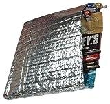 "Metallic Foil Bubble Mailers, 15"" W x 17"" H - 5/Case (Fits in USPS Medium Flat Rate Box)"