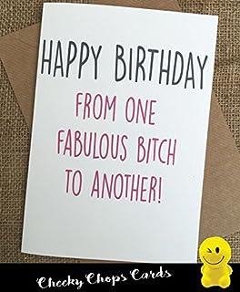 Funny Best Friend Birthday Card Bestie Humour Fun Sarcasm C21