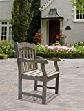 Vifah V1295 Renaissance Hand-Scraped Acacia Slatted Back and Seat Outdoor Armchair Review