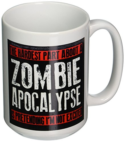 3dRose mug 193279 2 Hardest Apocalypse 15 Ounce