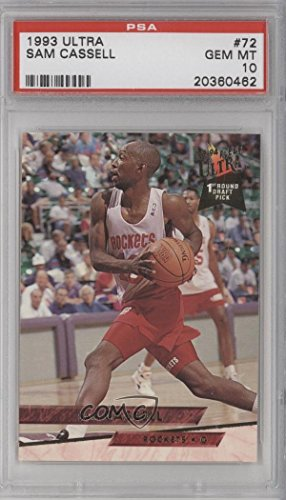 Sam Cassell PSA GRADED 10 (Basketball Card) 1993-94 Fleer...