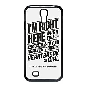 Fashion 5SOS Personalized Samsung Galaxy S4 i9500 Hardshell Case Cover