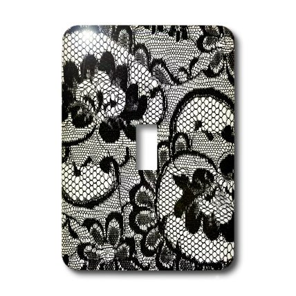 3drose Llc Lsp 26419 1 Sassy Black And White Lace Print Perfect For Bachelorette Or Lingerie Parties Single Toggle Switch Amazon In Home Kitchen