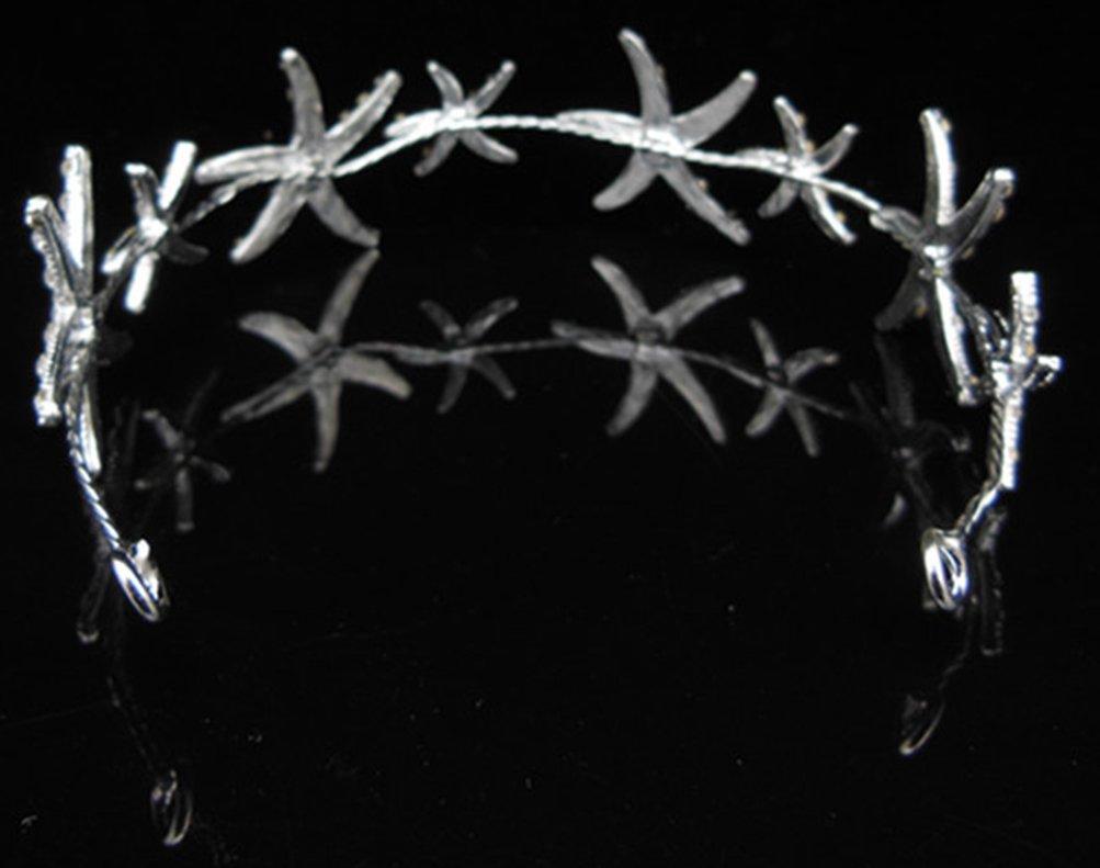 Women's Girl's Hair Head Band Starfish Headwear Hair Beach Wedding by Bienvenu (Image #5)