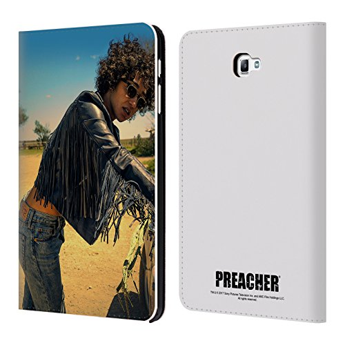 Official Preacher Sunglasses Tulip O'hare Leather Book Wallet Case Cover For Samsung Galaxy Tab A 10.1 - Hare Tulip Sunglasses O