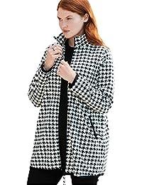 Plus Size Zip-Front Microfleece Jacket