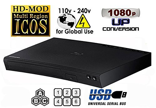 NEW SAMSUNG BD-J5100  Multi Zone All Region Blu Ray DVD Play