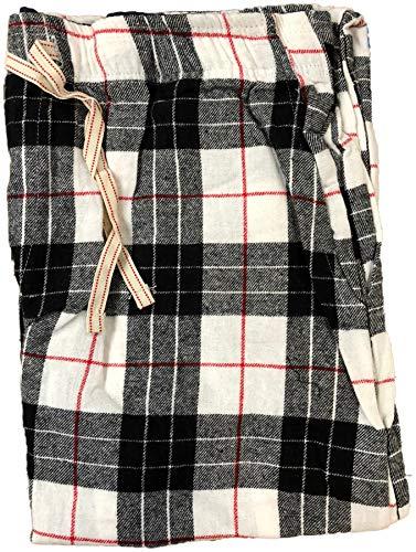 Generic  Mens Classic Checked Polar Fleece Trouser Flannel Pyjamas Bottoms PJs