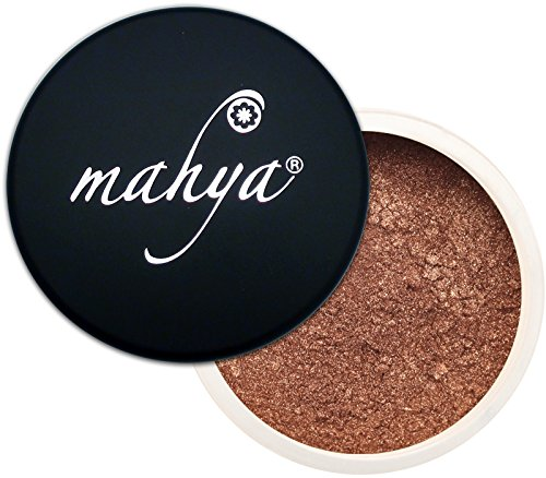 """Multi-Purpose Mineral Lustrous Eye Shadow""""Toffee"""" 0.09 Ounce by Mahya Cosmetics"""