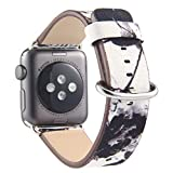 SaveStore Watch Band Leather Pastoral/Rural Style