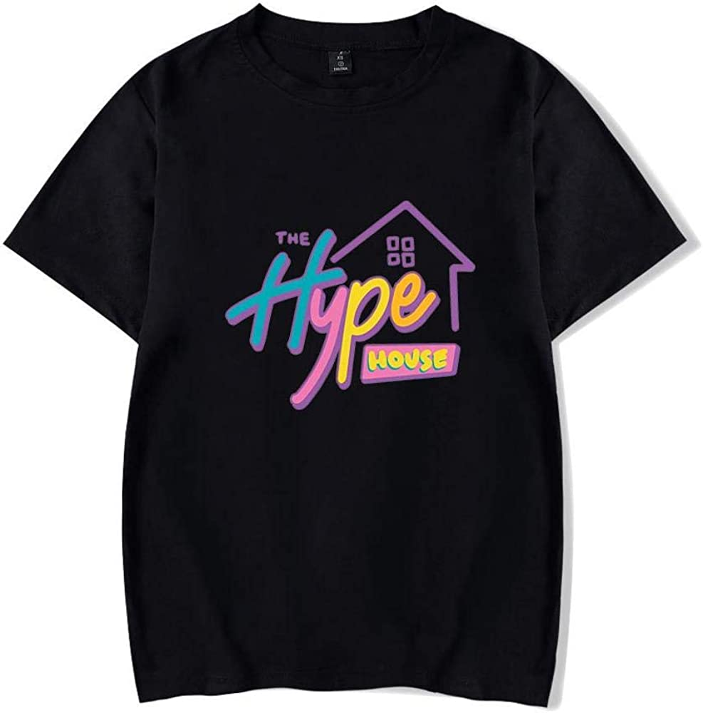 2020 The Hype House Kids Merch T Shirt Charli D'Amelio Prints Short Sleeve  O Neck Pullover Tops for Unisex, 2XS-4XL: Amazon.co.uk: Clothing