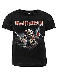 Ill Rock Merch Boys' Iron Maiden The Trooper Toddler T-Shirt