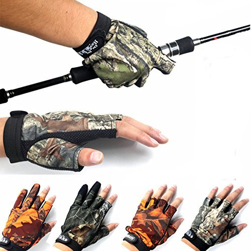Fishing Apparels - Anti Slip Outdoor Fishing Gloves for sale  Delivered anywhere in USA