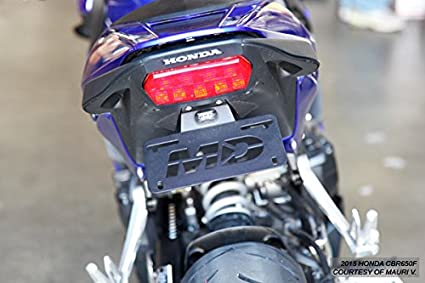 For Honda CBR650F 2014-2017 Motorrad Kennzeichenhalter Kennzeichenhalter Kennzeichenhalter Fender Eliminator Color : CBR650F