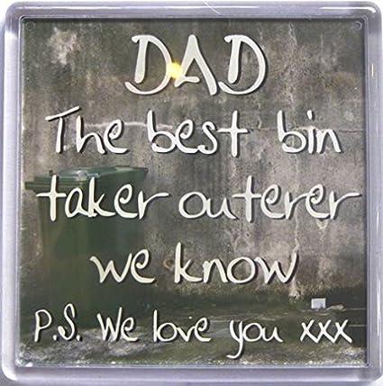 Papá el mejor papelera taker outerer sabemos... Imán para nevera ...