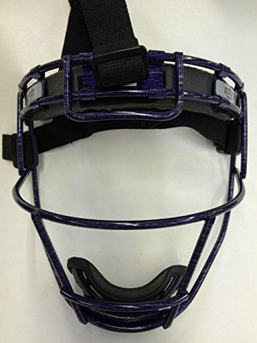 Youth Custom Schutt Purple Streak Infielder Face Guard by Schutt