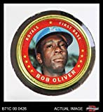 1971 Topps Coins # 48 Bob Oliver Kansas City Royals (Baseball Card) Dean's Cards 5 - EX Royals