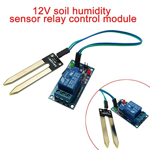 Arduino Robot - Dc 12v Smart Electronics Soil Moisture Hygrometer Detection Humidity Relay Sensor Module Car - Humid Oscilloscope Ethernet Harness Timer Switch Soil Sonoff Harajuku Board ()