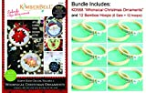 Kimberbell Machine Embroidery CD: Happy Hoop Decor, Volume 1: Whimsical Christmas Ornaments Plus 12 Bamboo Hoops