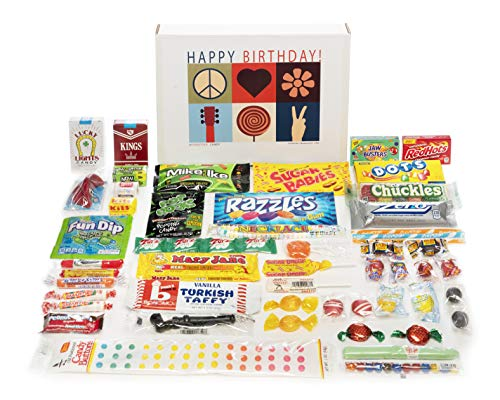 Woodstock Candy ~ Happy Birthday Care Package Gift Box of Nostalgic Retro Candy for Man or Woman for $<!--$38.90-->