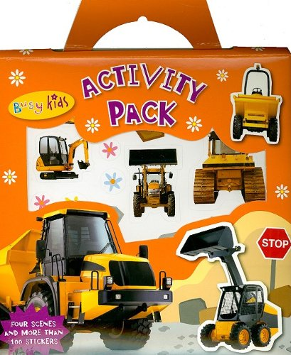 Read Online Diggers and Dumpers Activity Pack (Busy Kids) ebook