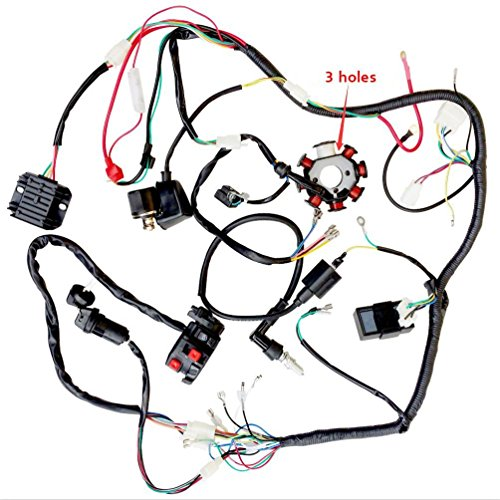150cc scooter wire harness - 4