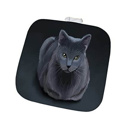 Blue Russian Cat Pot Holder: Amazon ca: Home & Kitchen