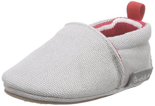 Sterntaler Baby-Krabbelschuh, Unisex Baby Krabbelschuhe, Grau (steingrau 583), 15/16 EU