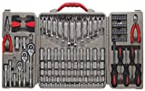 148 Piece Professional Tool Set 1/4-1/2 Drive, Sold As 1 Set