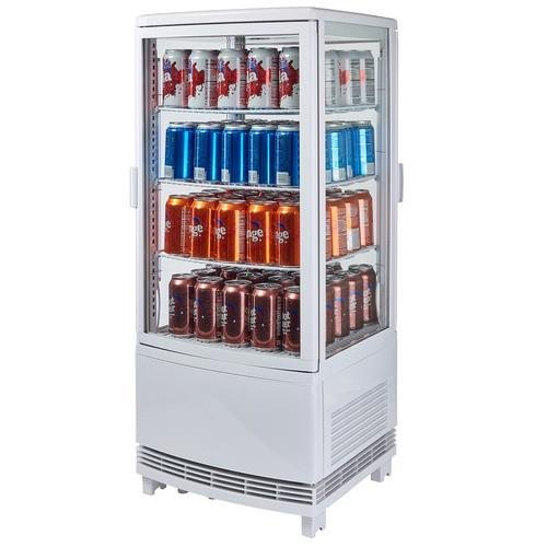 Winco - CRD-1-120V Countertop Refrigerated Beverage Display