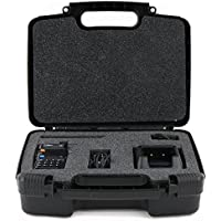 Life Made Better Storage Organizer - Compatible with BaoFeng BFF8HP Dual Band Two-Way Radio - Durable Carrying Case - Black