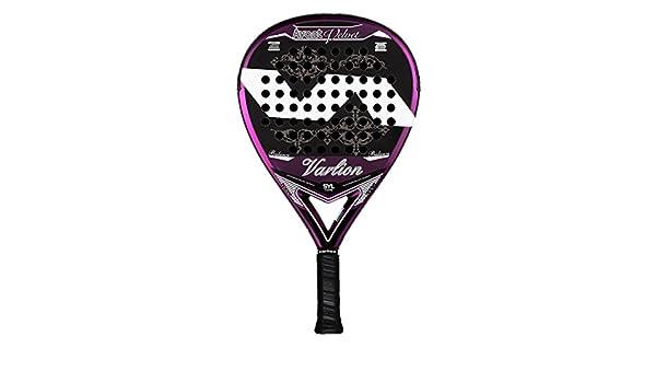 VARLION Avant Velvet SYL - Pala de padel para mujer, 38mm, color negro/rosa: Amazon.es: Deportes y aire libre