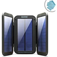 ReStore PX6000 Solar Charger & 6000mAh Power Bank w/ Active Charging Solar Panels , Folding Design & Kickstand by ReVIVE - Works with Apple iPhone 7 , Samsung Galaxy S8 , HTC One M9 & More Smartphones