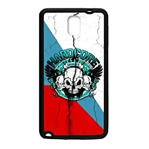 Generic Custom Unique Otterbox You deserve--Blue Skull Plastic and TPU Case Cover for SamsungGalaxy Note3