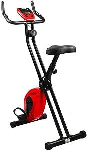 Finether-Bicicleta Estática Plegable Magnética Ejercicio Bicicleta ...