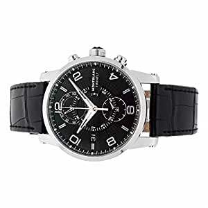 Montblanc Timewalker automatic-self-wind mens Watch 105077 (Certified Pre-owned)