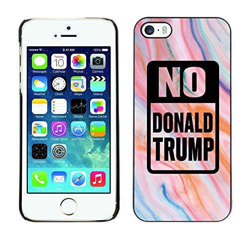 Print Motif Coque de protection Case Cover // Q04150521 Arrêtez le marbre Trump // Apple iPhone 5 5S 5G