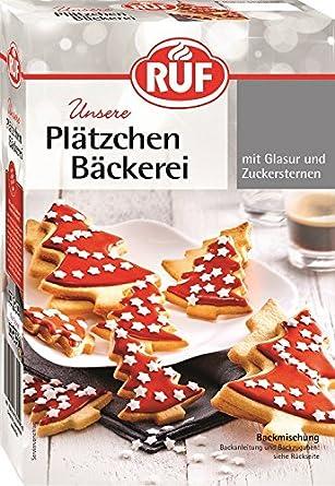 Glasur Weihnachtsplätzchen.Ruf Plätzchen Bäckerei Rote Glasur 470 G Amazon De Lebensmittel