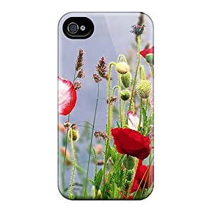 Tough Iphone Lzr22421QnnB Cases Covers/ Cases For Iphone 6plus(poppy Flowers Wild Meadows Background Images)