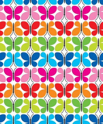 Butterflies Gift Wrap - Butterfly Reflections Gift Wrap Flat Sheet - 24in x 6ft