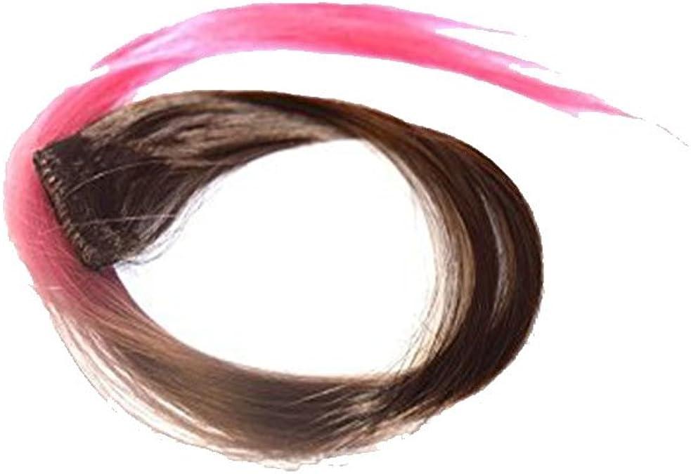 3 mecha para extensión cabello con clips Duo Color Chocolate ...