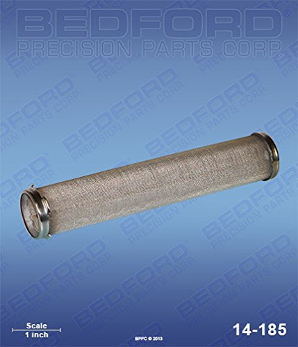 - AIRLESSCO 867-214 Bedford 14-185 Strainer, Manifold Filter - 60 Mesh (Long) Bedford Precision 14-185