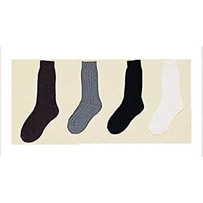 Boys Dress Socks - Assorted Colors Sizes: S-M-L 12 Pairs Lot ( 00020C Z)
