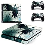 You loving hot anime Naruto Vinly Skin Sticker for PS4 System Playstation 4 Console with 2 Controller Skins by You Loving