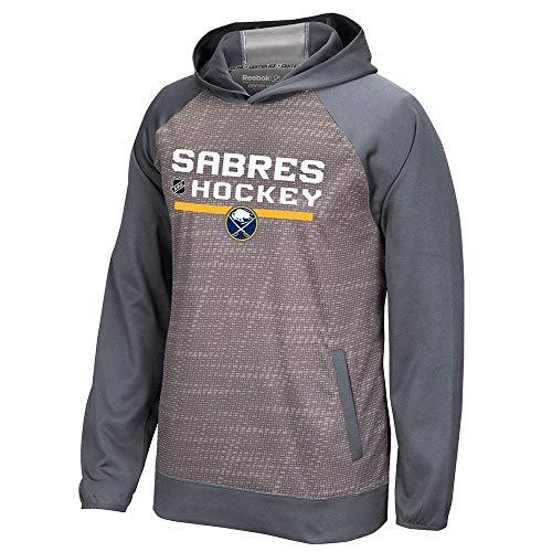 adidas Buffalo Sabres Reebok Center Ice TNT Authentic Locker Pullover Hoodie ()