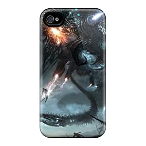 New FYCBl11308qzUIN Fantasy Monster Skin Case Cover Shatterproof Case For Iphone 4/4s