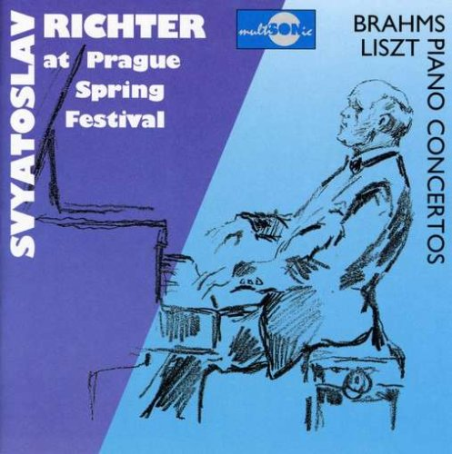 Brahms / Liszt: Piano Concertos, at Prague Spring Festival by Multisonic Records