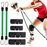 TOBWOLF Volleyball Training Pass Rite Aid Resistance Band, Elastic Volleyball Resistance Belt Set for for Prac